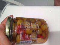 Aceitunas Manzanilla Verde Sin Hueso Aliñada - Ingredientes - es