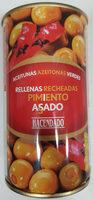 Aceitunas Verdes Rellenas De Pimiento Rojo Asado - Producto - es