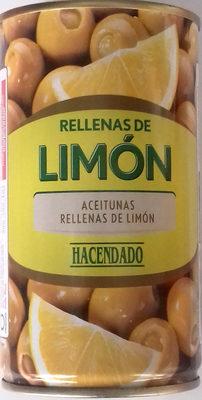 Aceitunas rellenas limón