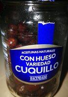 Cuquillo Con Hueso Aceituna Negra Natural\ - Producte - es