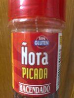 Ñora Picada - Valori nutrizionali - es