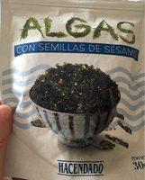 Algas con semillas de sésamo - Producte