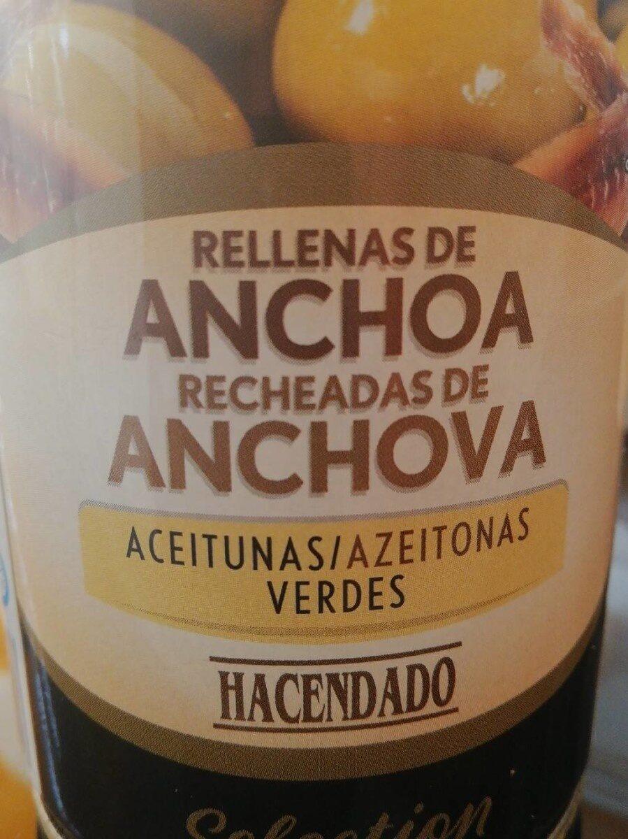 Aceitunas verdes rellenas de anchoa - Producto - es