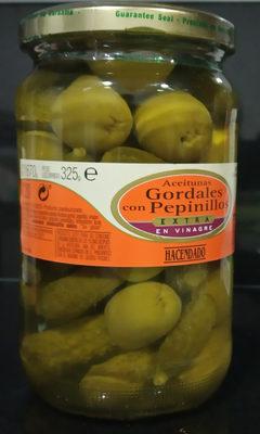 Aceitunas Gordales con Pepinillo en vinagre - Producte