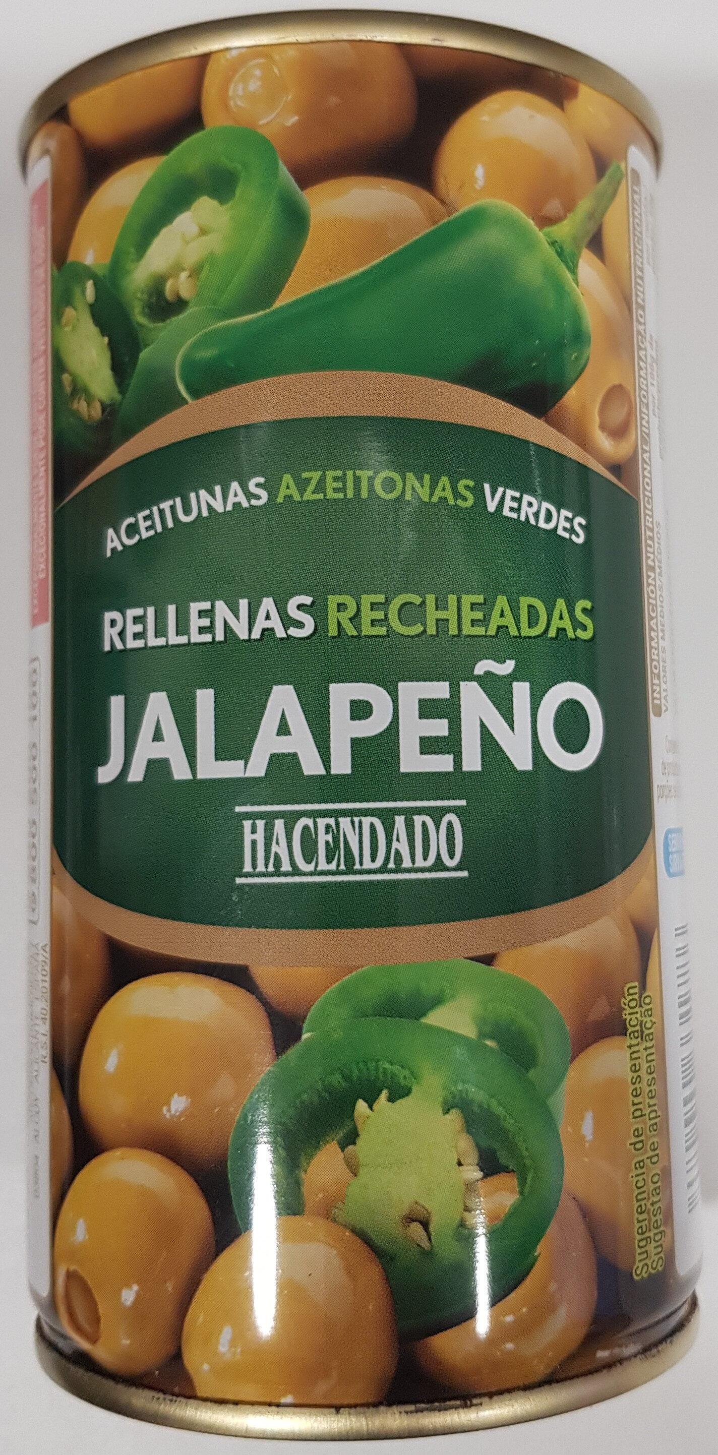 Aceitunas Verdes Rellenas de Jalapeño - Producto