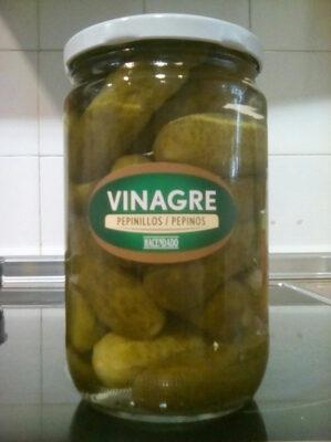 Pepinillos extra en vinagre - Produit - es