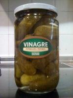 Pepinillos en vinagre - Product - es