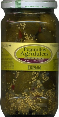 Pepinillos encurtidos agridulces - Producto