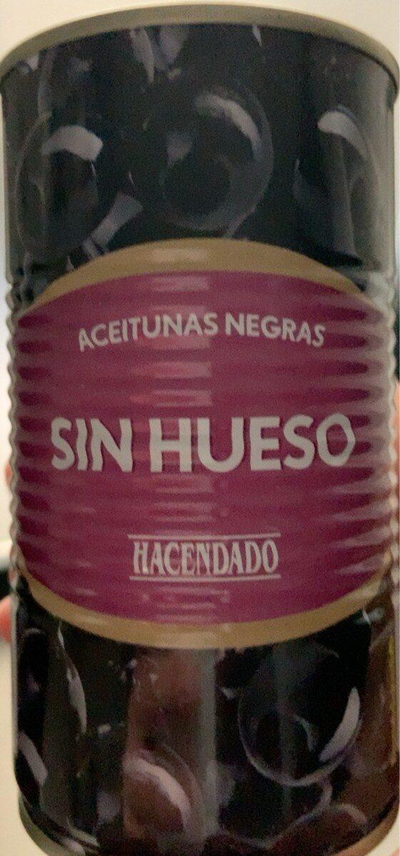 Aceitunas negras sin hueso - Prodotto - es