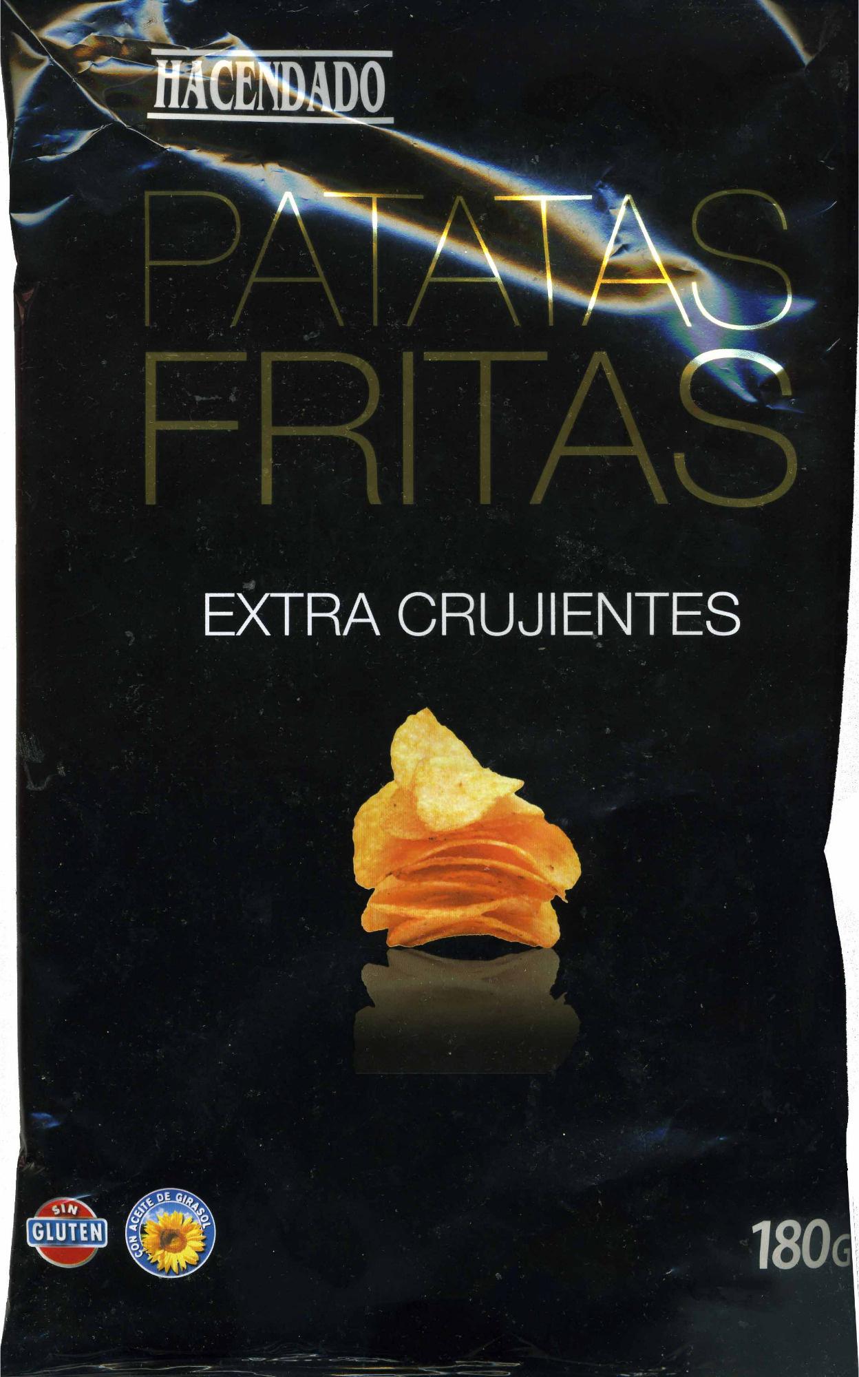 Patatas fritas lisas Extra crujientes - Produit