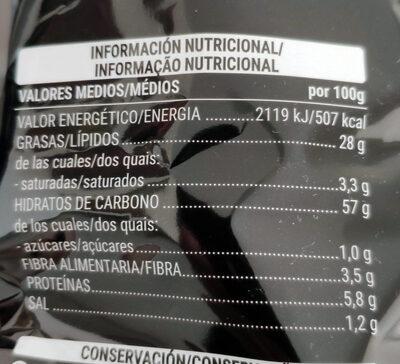 Extra crunch - Valori nutrizionali - es