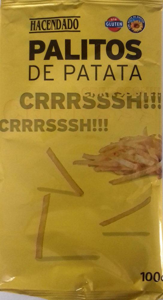 Palitos de patata - Producto