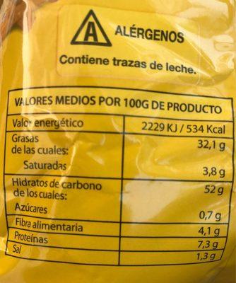 Patatas Extracrunch - Informations nutritionnelles - fr