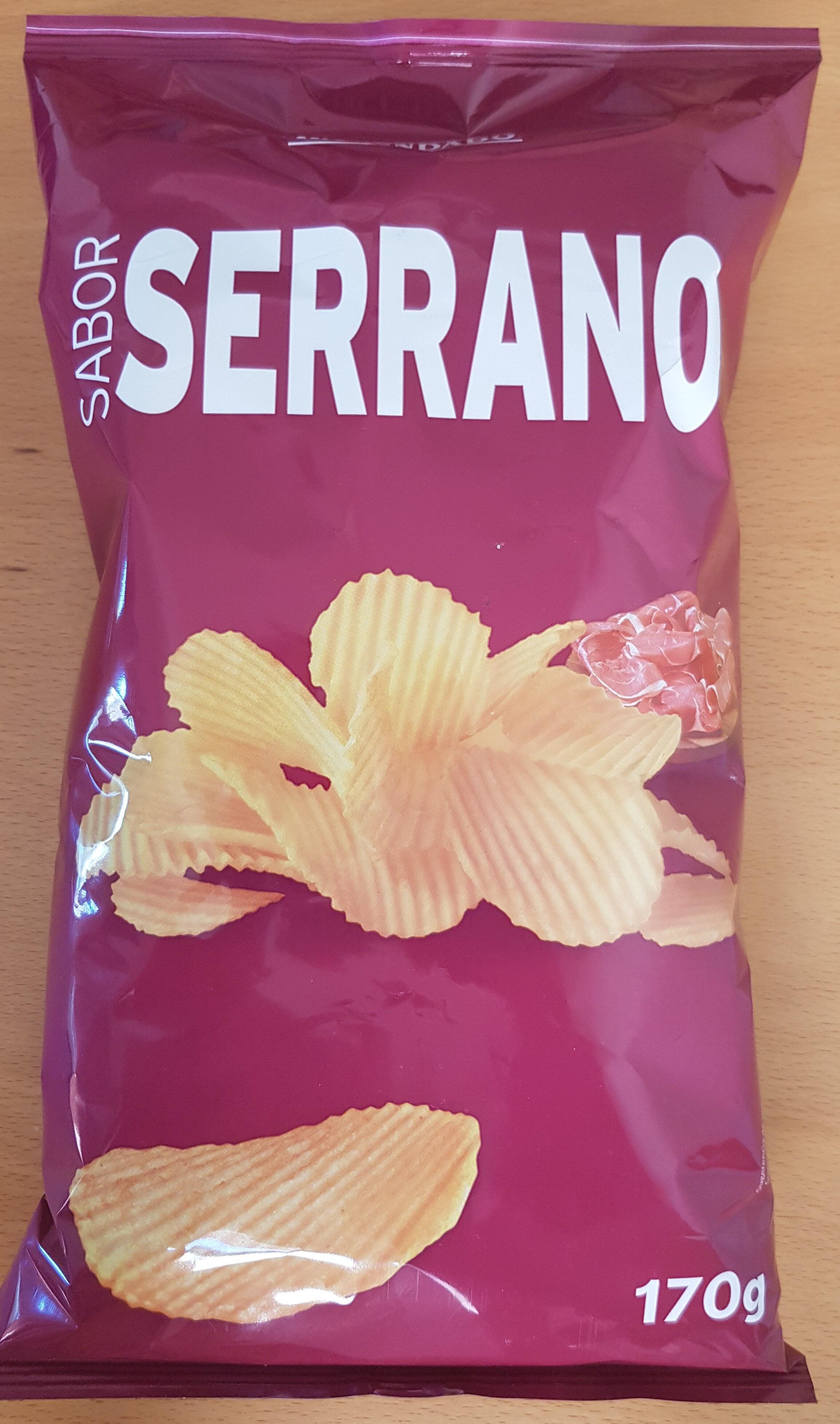 Patatas fritas sabor serrano - Produit