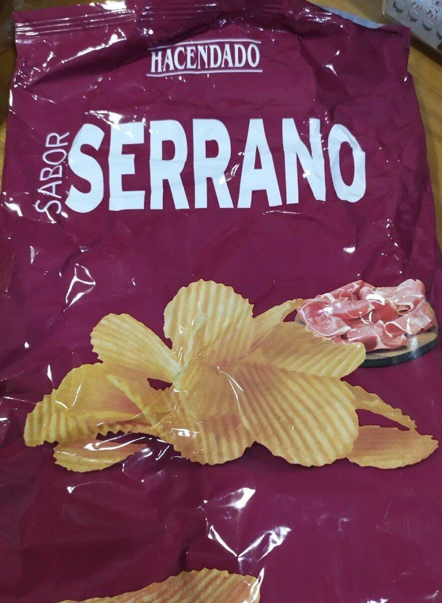 Patatas Sabor Jamón Serrano - Product - es