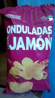 Chips ondulées jambon - Producto