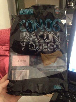 Conos sabor bacon y queso - Product