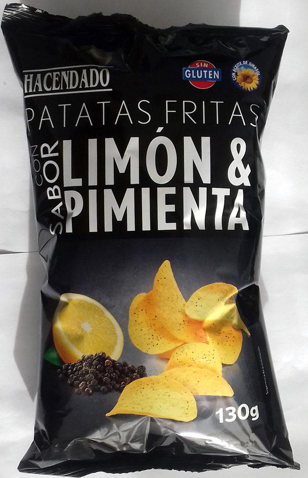 Patatas fritas sabor limon & pimienta - Producto