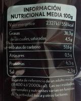 Patatas lemon & pimienta - Informations nutritionnelles - es