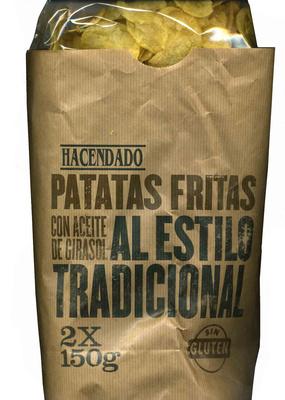 Patatas fritas lisas al estilo tradicional - Producte
