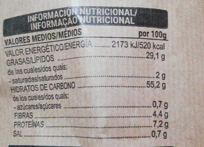 Patatas fritas tradicionales - Informations nutritionnelles - es