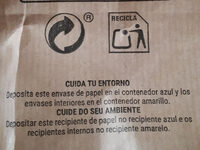 Patatas fritas tradicionales - Recycling instructions and/or packaging information - es