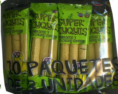 Aperitivo de maíz Super Cuquis - Producto