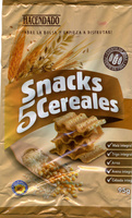 Snacks 5 cereales - Producte - es