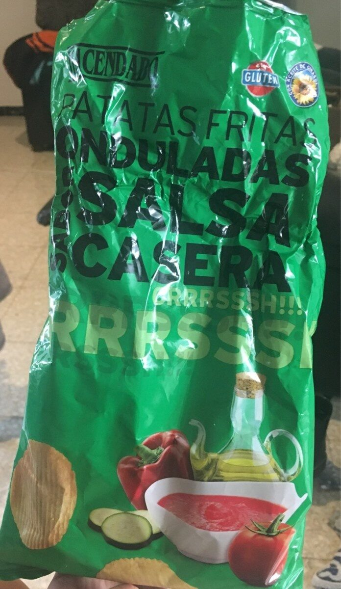 Patatas fritas onduladas - Producte