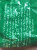 Patatas fritas onduladas - Ingredients
