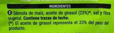Cuquis - Ingredientes