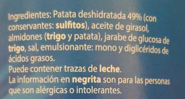 Patata Snack - Ingredients