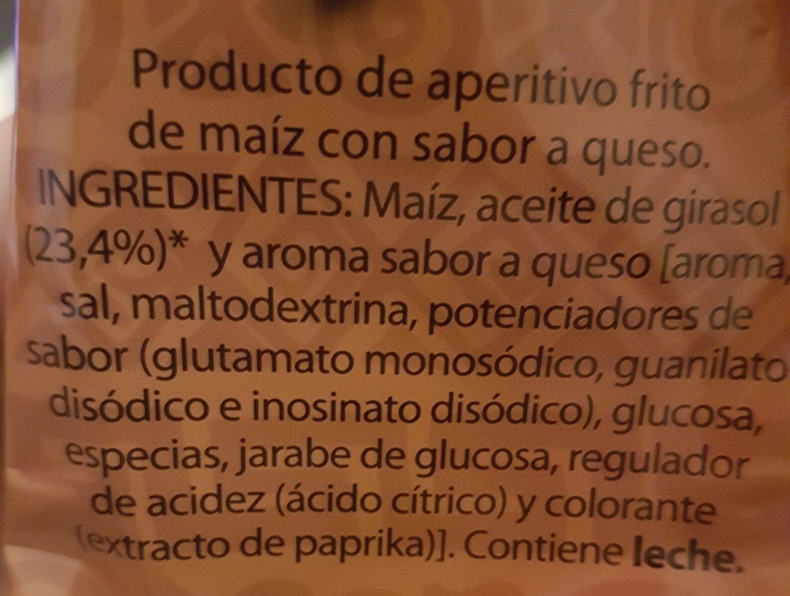 Tortitas de maíz tex-mex - Ingrediënten - es