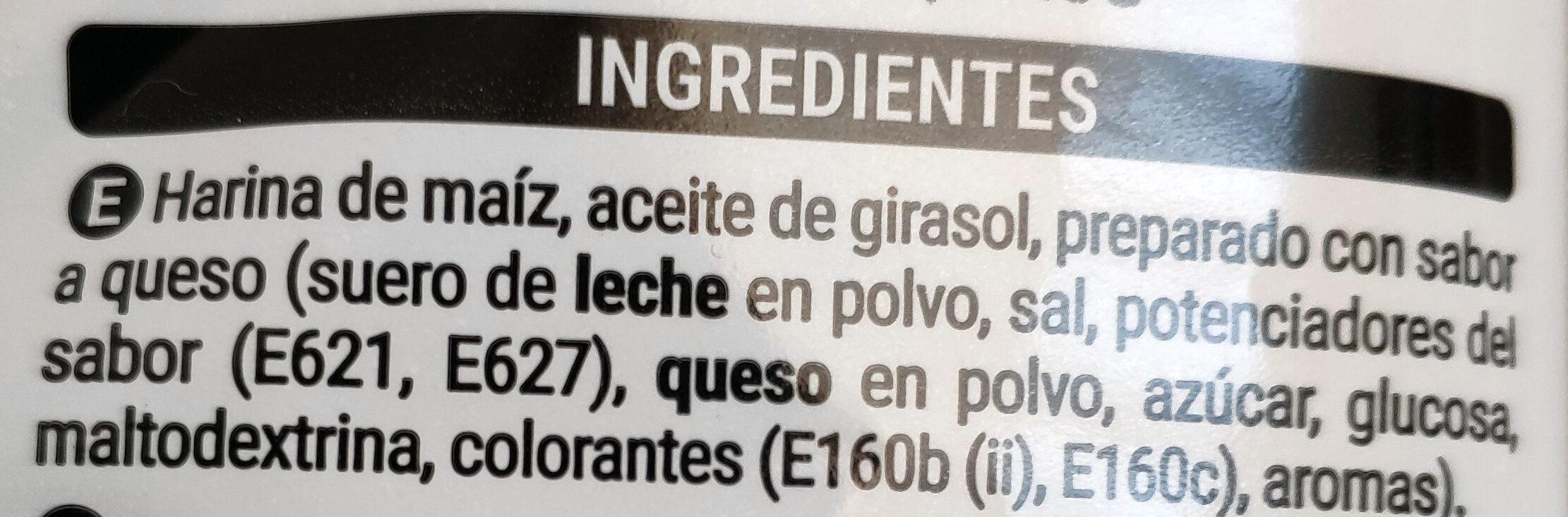 Cuquitos - Ingredienti - es
