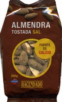 Almendras tostadas con sal Variedad Largueta - Producte
