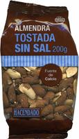 Almendras tostadas sin sal - Producte