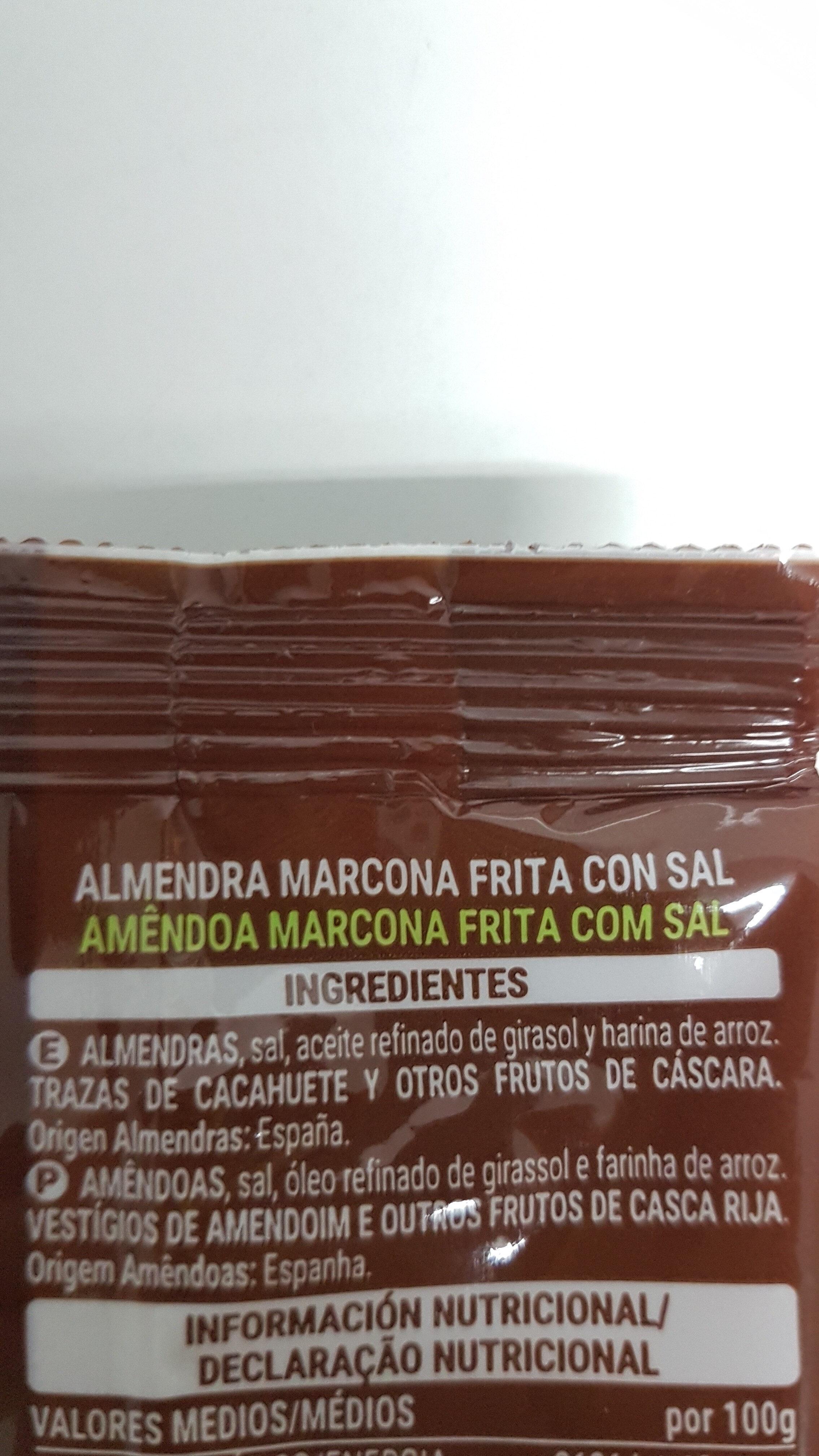 Almendra Marcona - Ingredients - es