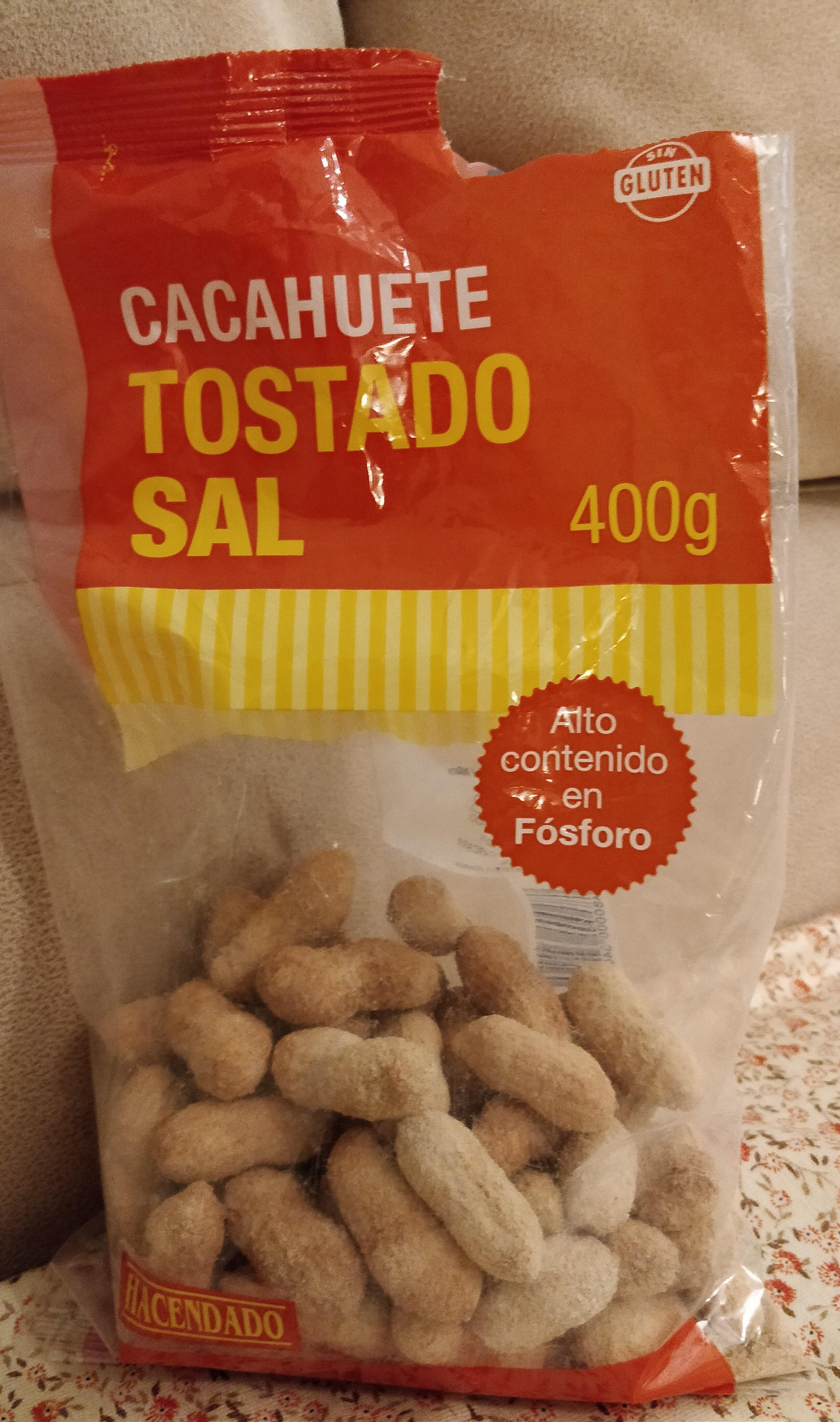 Cacahuete tostado sal - Producto
