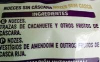 Nuez natural - Ingrédients - es