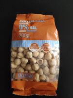 Avellana Tostada 0% Sal Añadida - Producto - es
