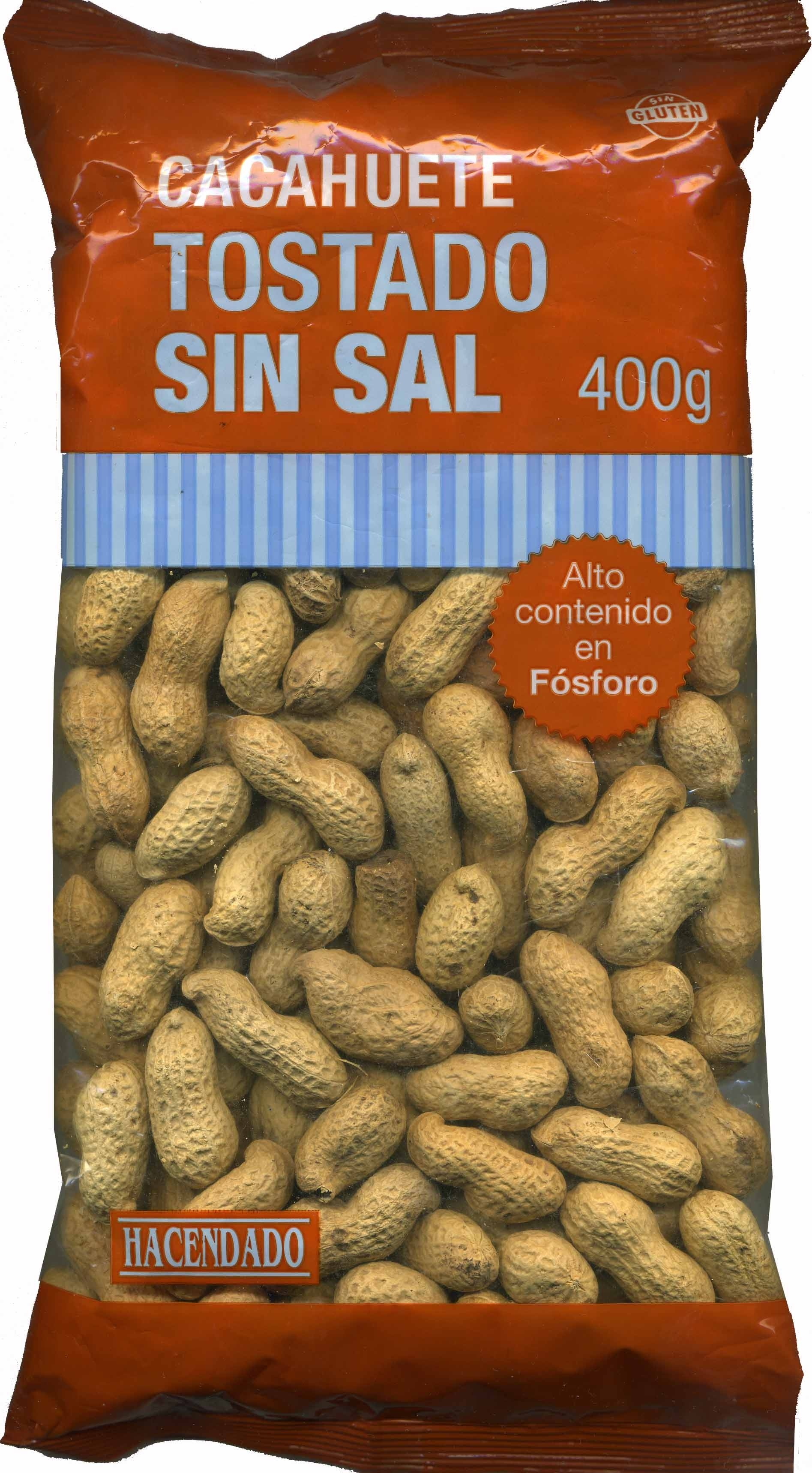 Cacahuete tostado 0% sal añadida - Producto