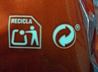 Cacahuete tostado 0% sal añadida - Istruzioni per il riciclaggio e/o informazioni sull'imballaggio - es