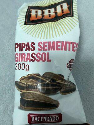 Pipas de girasol BBQ - Product - es