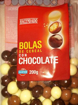 bolas de cereal - Producte