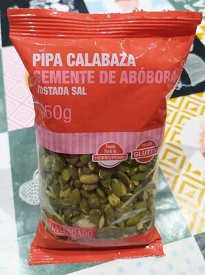 Pipas Calabaza Mondadas Tostadas - Producte - fr
