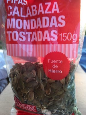 Pipas calabaza mondadas tostadas - Producte