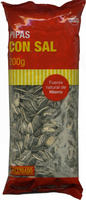 Semillas de girasol con cáscara tostadas con sal - Producto