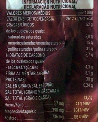 Pipa tostada gigante con sal - Nutrition facts - es