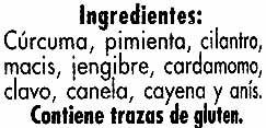 Curry - Ingrediënten