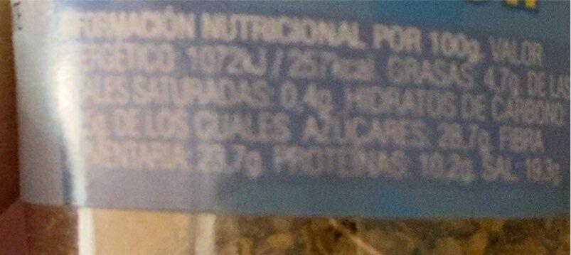 Espagueti sazonador - Información nutricional - es